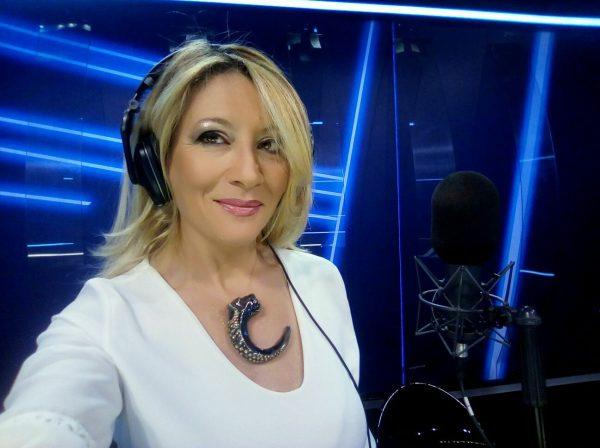 Antonella Caramia indossa il collier Pantera SaviniJewels
