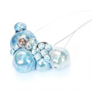 Bubble medium lightblue SaviniJewels Bubble collection
