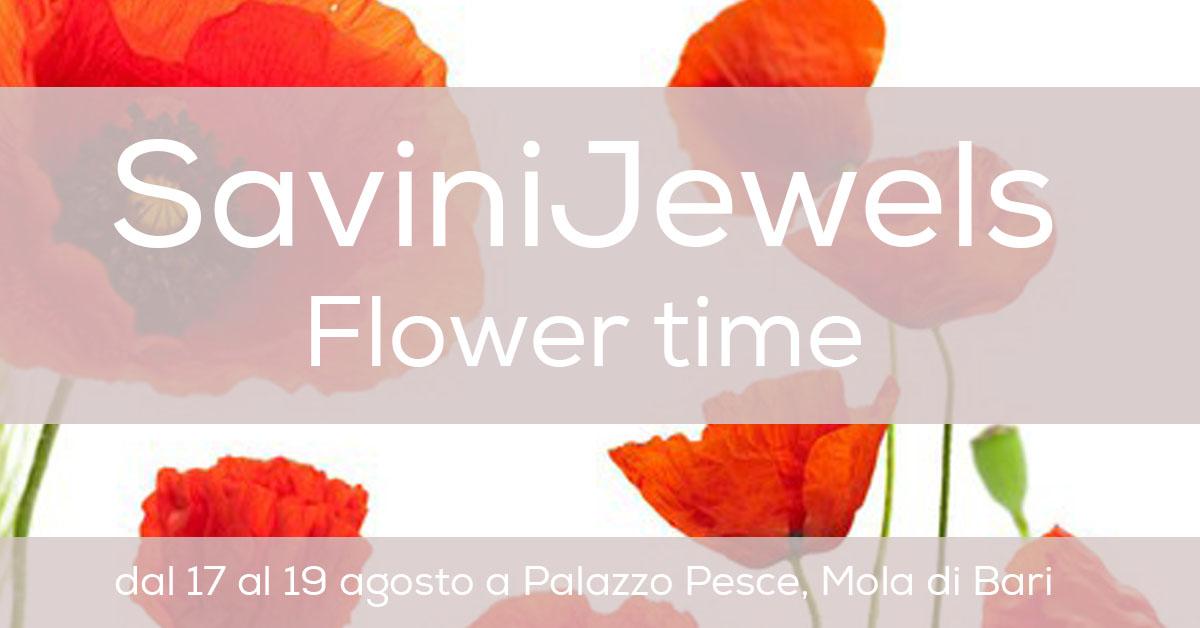 Flower Time Savini Jewels Gioielli in ceramica Puglia