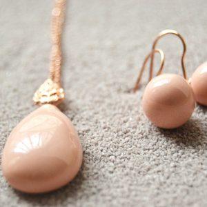 Gocce lusso Mediterraneo Jewels gioielli in ceramica